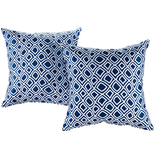Modway Two Piece Outdoor Patio Pillow Set 2401-BAL