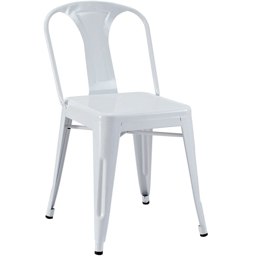 Promenade Dining Side Chair 266-WHI