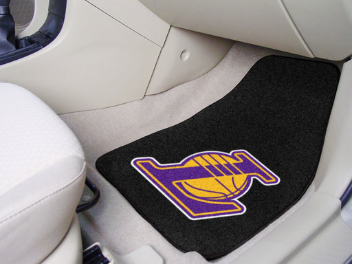 NBA - Los Angeles Lakers 2-piece Carpeted Car Mats 17x27