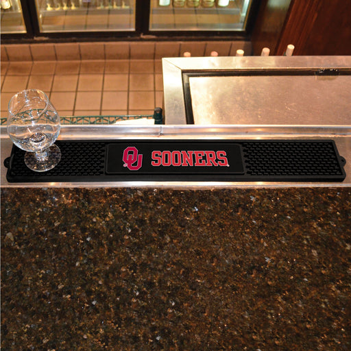 University of Oklahoma Drink Mat 3.25x24