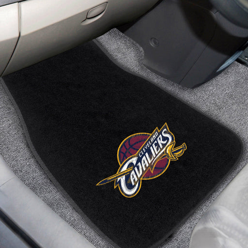 NBA - Cleveland Cavaliers 2-piece Embroidered Car Mats 18x27