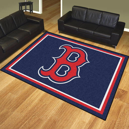 Boston Red Sox 8x10 Rug