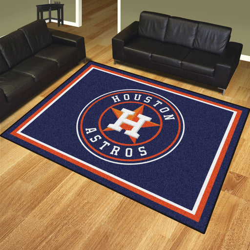 Houston Astros 8x10 Rug