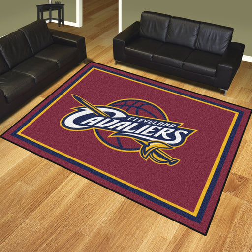 NBA - Cleveland Cavaliers 8x10 Rug