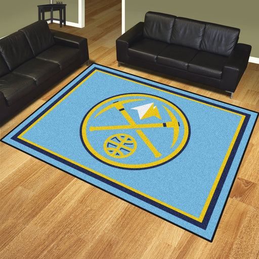 NBA - Denver Nuggets 8x10 Rug