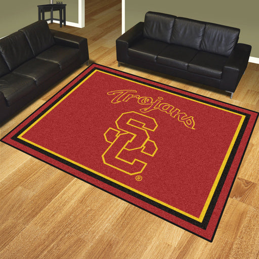 University of Southern California 8x10 Rug