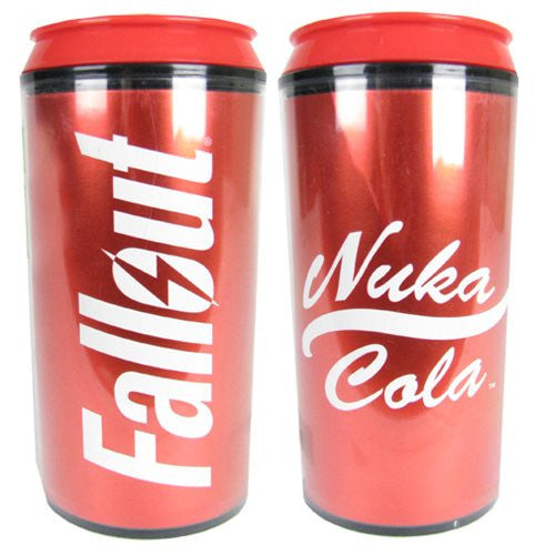 Fallout Nuka Cola Plastic Travel Can with Screw Lid