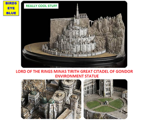 Lord of the Rings Minas Tirith Great Citadel of Gondor Environment Statue