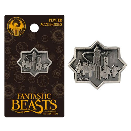 Fantastic Beasts MACUSA City Pewter Lapel Pin