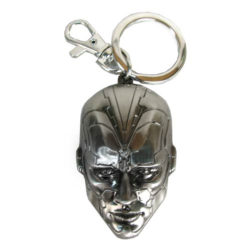 Avengers: Age of Ultron Vision Head Pewter Key Chain
