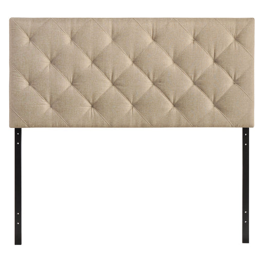 Theodore Twin Upholstered Fabric Headboard 5311-BEI