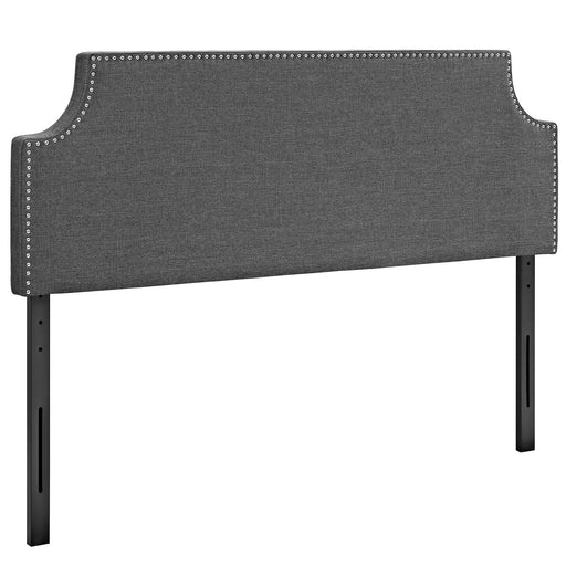 Laura Full Upholstered Fabric Headboard 5392-GRY