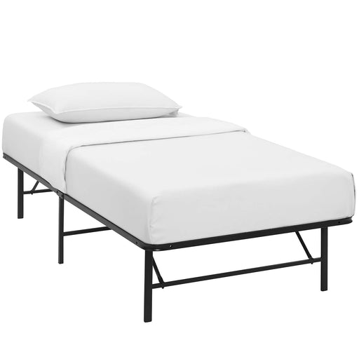 Horizon Twin Stainless Steel Bed Frame 5427-BRN