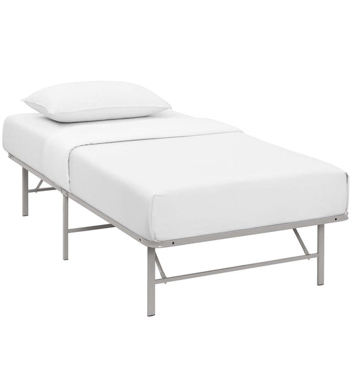 Horizon Twin Stainless Steel Bed Frame 5427-GRY