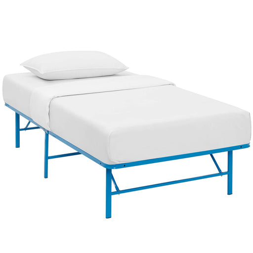 Horizon Twin Stainless Steel Bed Frame 5427-LBU