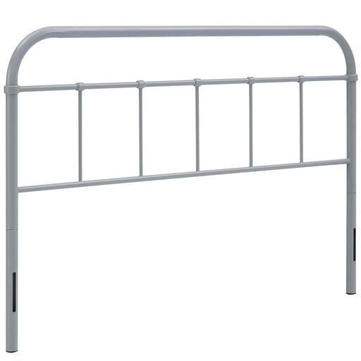 Serena Queen Steel Headboard 5536-GRY