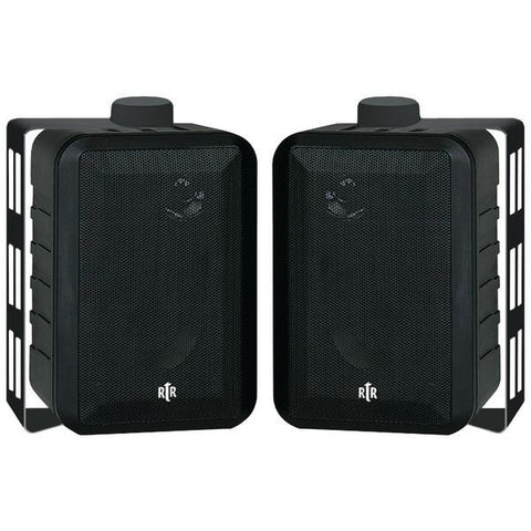 Bic America Rtrv44-2 Rtr Series 3-way Indoor-outdoor Speakers (black)