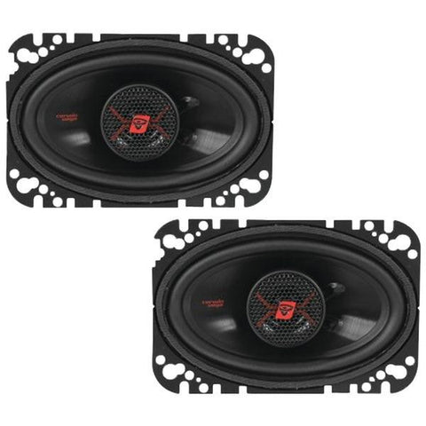 "CERWIN-VEGA MOBILE H446 HED 2-Way Coaxial Speakers (4"" x 6"", 200 Watts)"