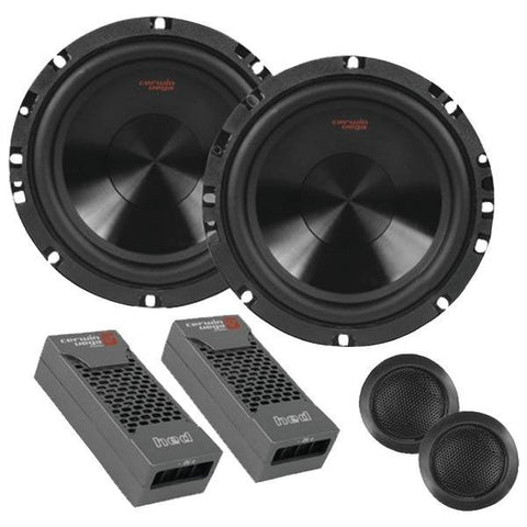 "Cerwin-vega H465c Hed 6.5"" 360-watt 2-way Component Speakers"
