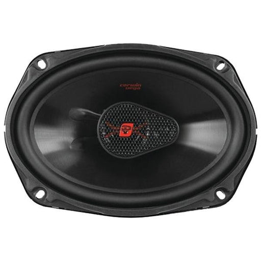 "Cerwin-vega H4683 Hed 3-way Coaxial Speakers (6"" X 8"", 320w Max)"