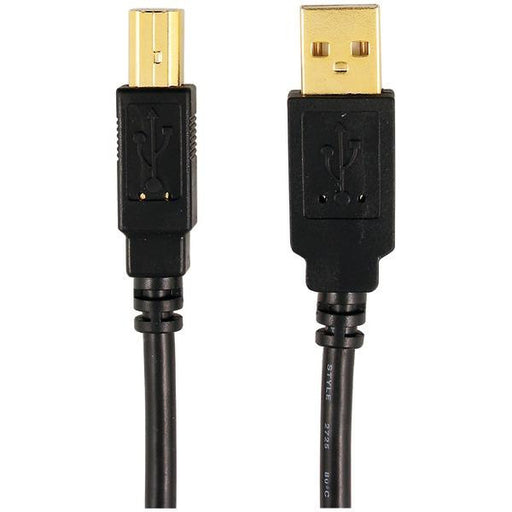 Axis 12-0080 (mp-007-pt-bl A-male To B-male Usb 2.0 Cable (6ft)