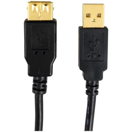 Axis 12-0082 A-male To A-female Usb 2.0 Cable (6ft)