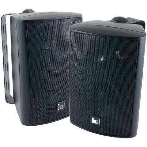 "Dual Lu43pb 4"" 3-way Indoor-outdoor Speaker (black)"