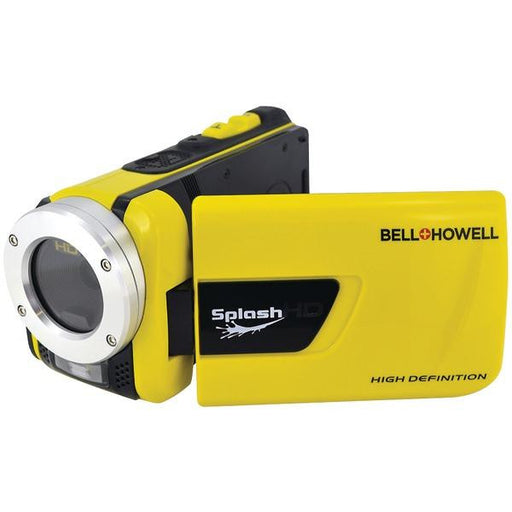 Bell+howell Wv30hd-y 16.0 Megapixel 1080p Splashhd Waterproof Digital Video Camera