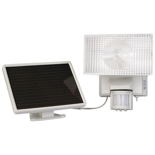 Maxsa Innovations 40224 Solar-powered 50-led Motion-activated Outdoor Security Floodlight (white)