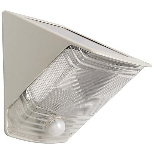 Maxsa Innovations 40235 Solar-powered Motion-activated Wedge Light (gray)