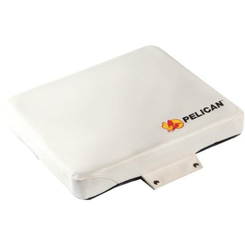 Pelican 35q-seat-wht Deluxe Marine Seat Cushion For Progear(tm) Coolers (35qseat; Fits 35qt)