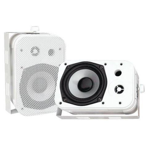 "Pyle Pdwr40w 5.25"" Indoor-outdoor Waterproof Speakers (white)"