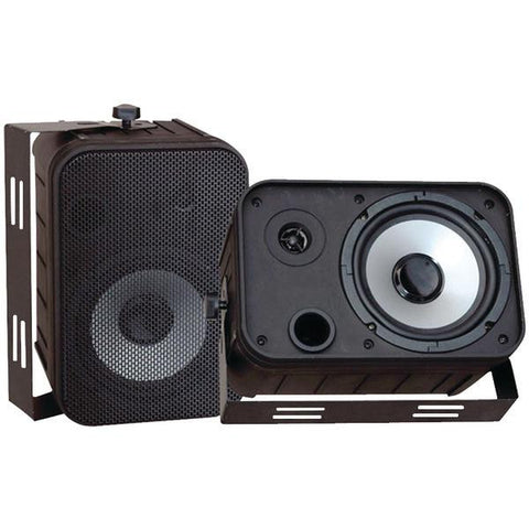 Pyle Pdwr50b 6.5'''' Indoor-outdoor Waterproof Speakers (black)