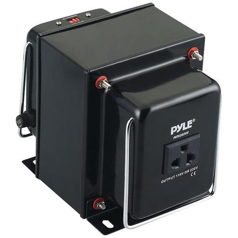 Pyle Pvtc2020u Step Up & Step Down Voltage Converter Transformer (2000 Watt)