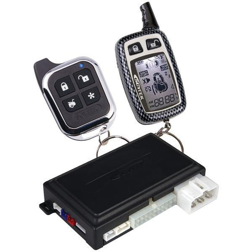 Astra Astra 1.2w 2-way Remote Engine-start & Keyless-entry System With 1 Lcd Chrome 5-button 2-way