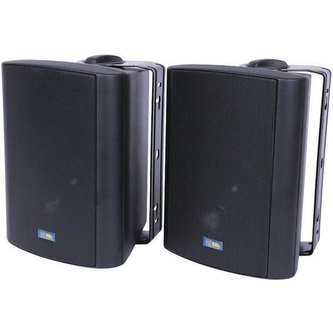 Tic Corporation As P60b Indoor-outdoor 75-watt Speakers With 70 Volt Switching (black)