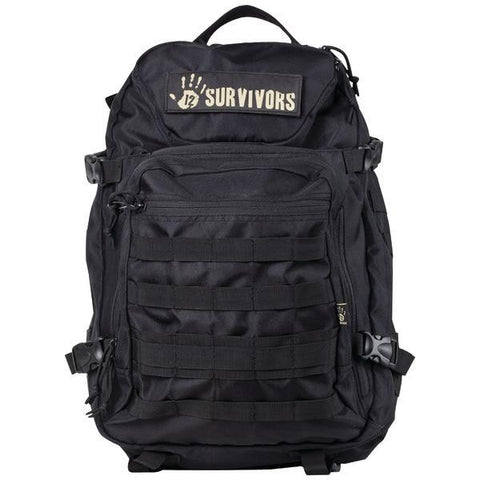 12 Survivors Ts41000b Tactical Backpack (black)