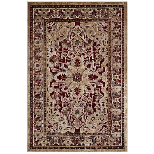 Grania Ornate Vintage Floral Turkish 5x8 Area Rug 1096A-58