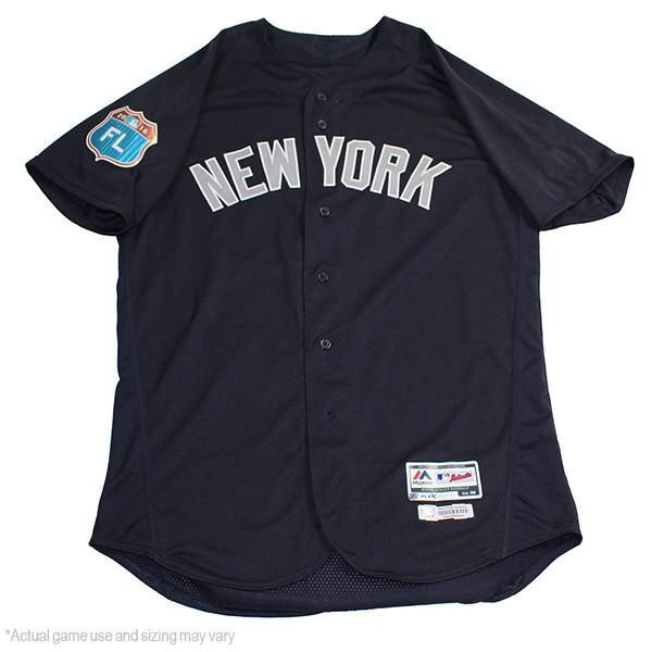 new product c889e f54c2 Donovan Solano New York Yankees 2017 Spring Training Road Game Used #34  Jersey (JC003123)(46)