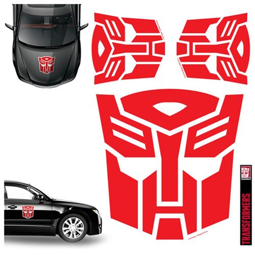 Transformers Autobots Red Car Graphics Set