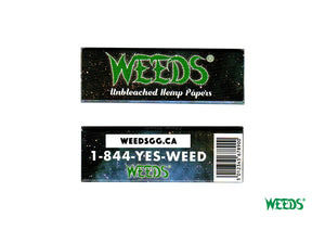 WEEDS® Unbleached Hemp Papers - Regular