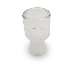 Clear Glass Open Dome - 18mm (F)