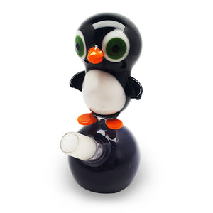 Ice Berg Glass - Maddy Cool Penguin Bubbler 14mm (M)