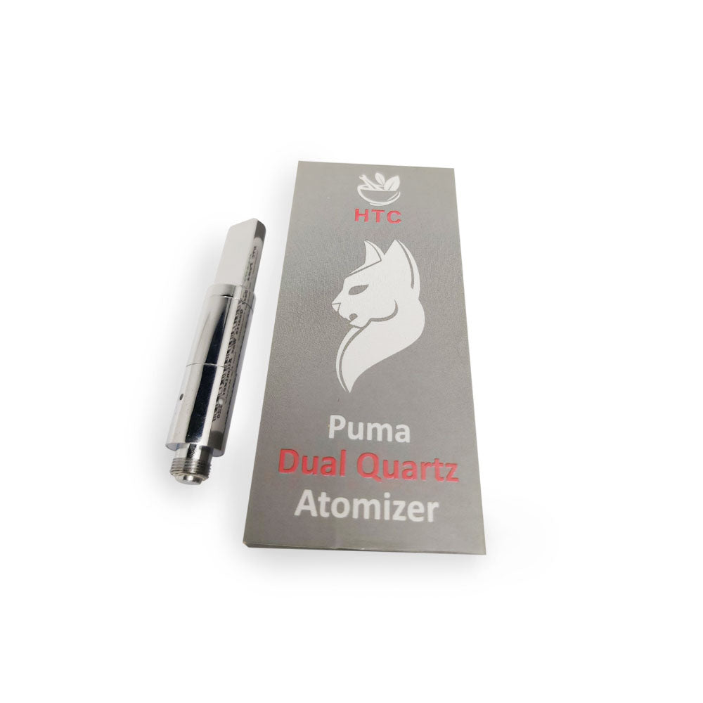 HTC Puma - Dual Quartz Coil Wax Atomizer