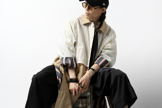 Coat & Pant Look for Summer - Autumn '20 KAZUYUKI KUMAGAI
