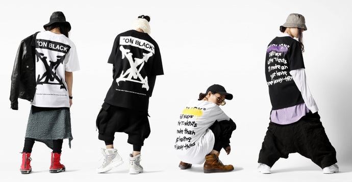 A.F ARTEFACT x buggy COLLABORATION TEE |DEFORMATER.® BOXER DROP CROTCH SHORTS