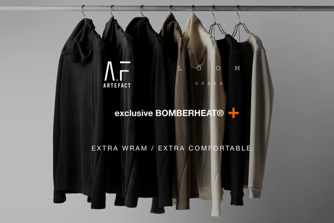 VOL.2 - A.F ARTEFACT exclusive BomberHEAT®+ / この冬の為の企画 - (20-21AW).