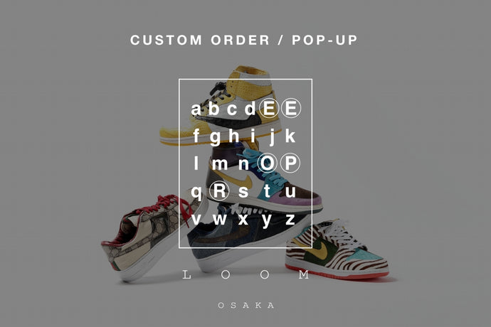 "EVENT INFORMATION - ""YOUR OWN ICONIC SNEAKERS"" by OPERE SHOES."