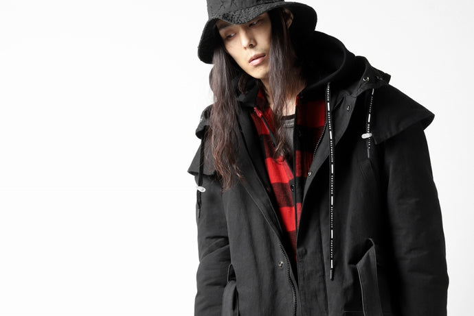 STYLING (AW20) - DEFORMATER,BACKLASH / モッズコート×ネルパーカ