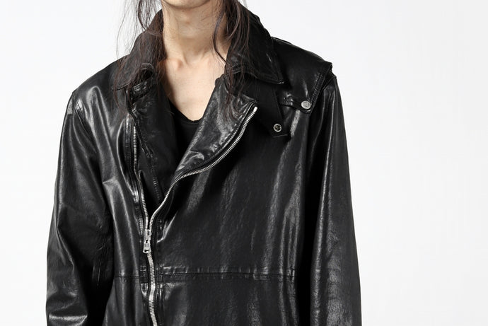 "BACKLASH ""Italy Shoulder Leather"" LONG DOUBLE RIDERS."